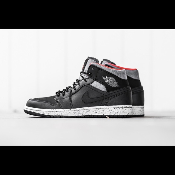 1ace9c7ffd7 ... shopping air jordan 1 mid black dark grey infrared 23 1ac62 c0c48
